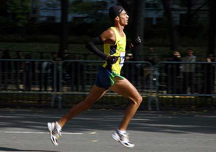 New York Marathon Gomes dos Santos