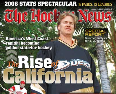 The Hockey News rise of California