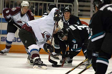 San Jose Sharks Colorado Avalanche