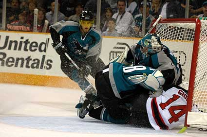 San Jose Sharks New Jersey Devils