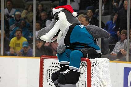 San Jose Sharks S.J. Sharkie