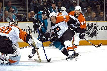 San Jose Sharks Philadelphia Flyers