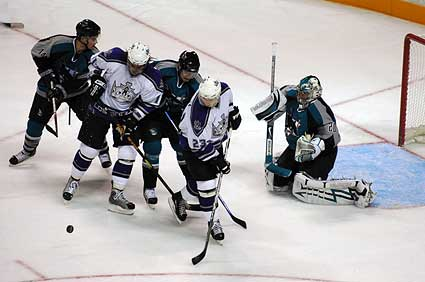 San Jose Sharks LA Kings