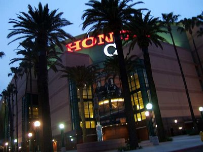 Arrowhead Pond Honda Center Anaheim Ducks