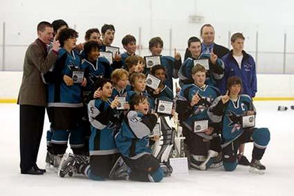 San Jose Jr Sharks Norcal Champions