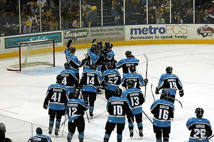 Stockton Thunder ECHL Alaska Aces