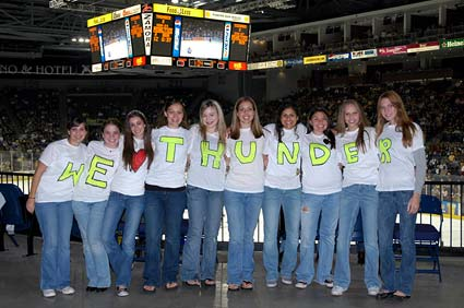 ECHL Stockton Thunder Long Beach Ice Dogs