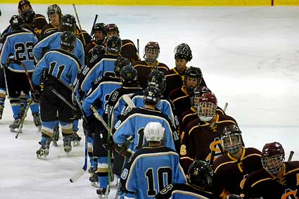 UCLA Bruins ASU sun devils hockey