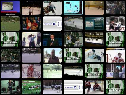 Wall of Hockey Videos Blinkx