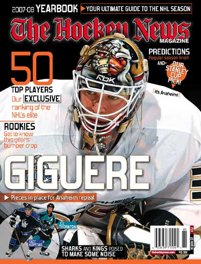 The Hockey News 2007-08 NHL Yearbook