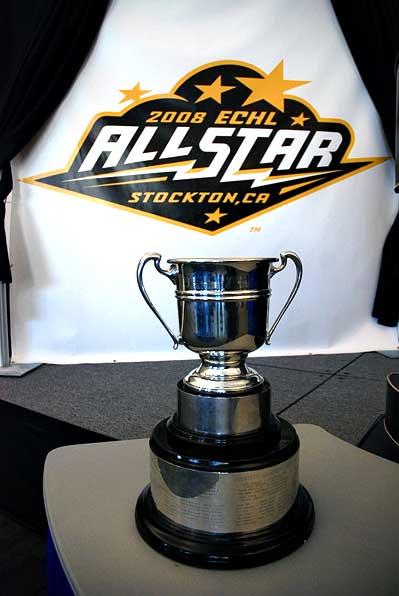 2008 ECHL Allstar Logo Patrick J Kelly Cup