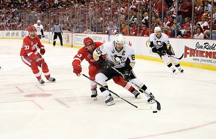 Pittsburgh Penguins captain Sidney Crosby Stanley Cup Finals game 1