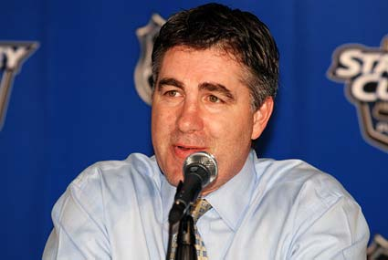 Dallas Stars head coach Dave Tippett