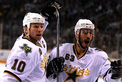 Dallas Stars Brenden Morrow Mike Ribeiro