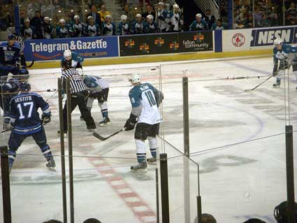 Worcester Sharks AHL Jamie McGinn