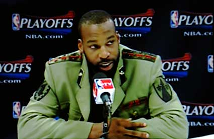 Golden State Warriors Baron Davis