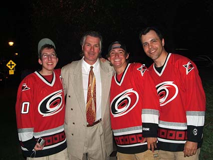 Former Los Angeles Kings coach and ESPN analyst Barry Melrose