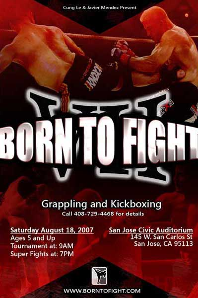 Born to Fight 7 amateur kickboxing grappling mauy thai