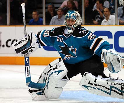 San Jose Sharks photo Evgeni Nabokov