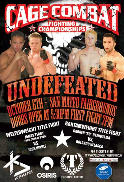 Cage Fighting Championships San Mateo Fairground