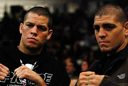 Cage Combat Fighting Championships Nathan Nick Diaz