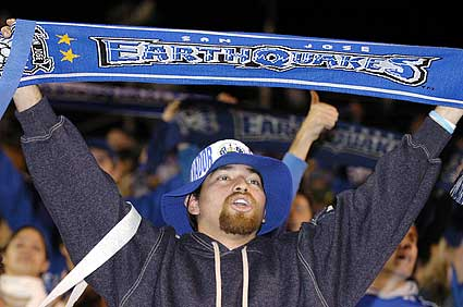 San Jose Earthquakes return to MLS