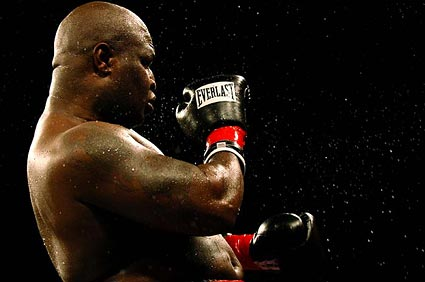 Heavyweight boxing photo James Toney