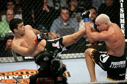 UFC light heavyweight Lyoto Machida defeats Tito Ortiz