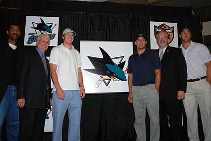 new Sharks logo