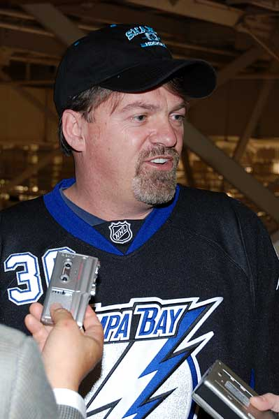 Steve Williamson 30 NHL games in 30 days