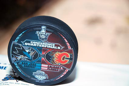 NHL Stanley Cup Playoffs San Jose Sharks Calgary Flames