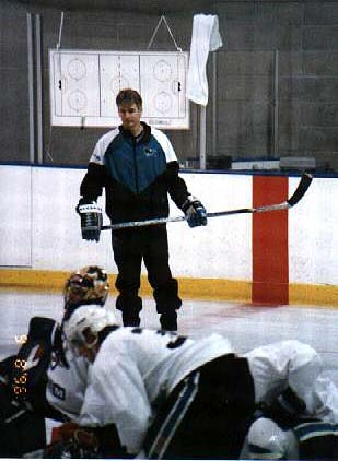 Worcester Sharks head coach Roy Sommer