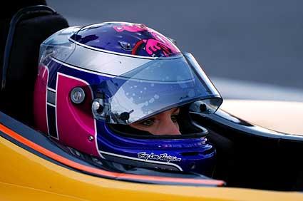 Katherine Legge Dale Coyne Racing