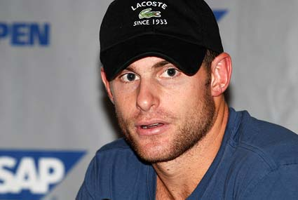 Andy Roddick 2008 SAP Open tennis tournament champion