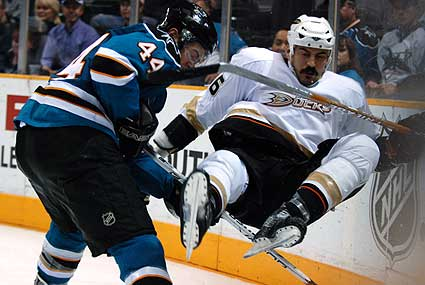 San Jose Sharks vs Anaheim Ducks