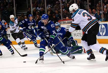 Vancouver Canucks San Jose Sharks