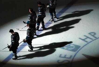 San Jose Sharks pregame national anthem