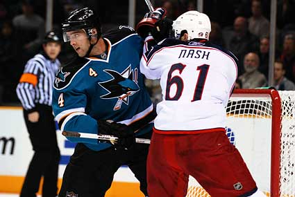 San Jose Sharks Columbus Blue Jackets