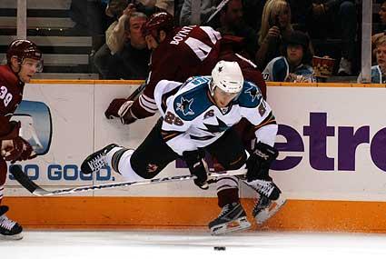 Steve Bernier San Jose Sharks