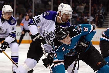 San Jose Sharks Los Angeles Kings NHL hockey