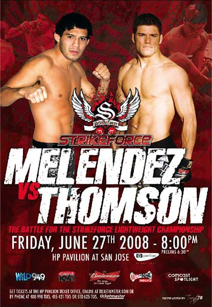 Gilbert Melendez Josh Thomson Strikeforce HDnet