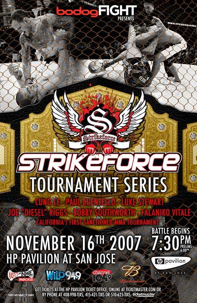 Strikeforce BodogFight Strikeforce MMA Tournament