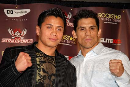 Cung Le Franck Shamrock San Jose mixed martial arts