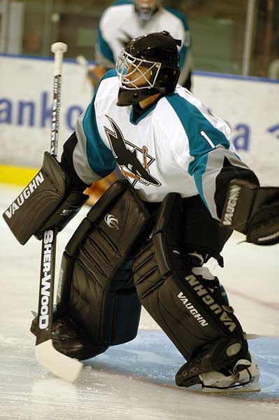 Worcester Sharks Thomas Greiss