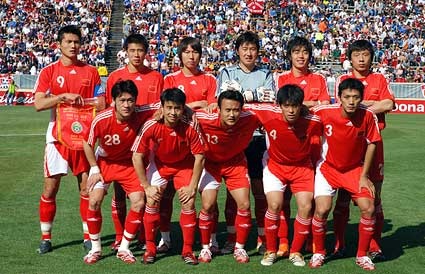 Chinese national soccer team