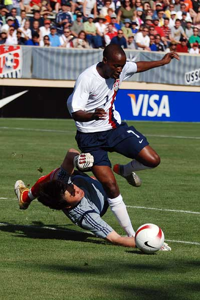 USA soccer Damarcus Beasley