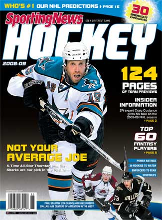 Sporting News 2008-09 NHL preview