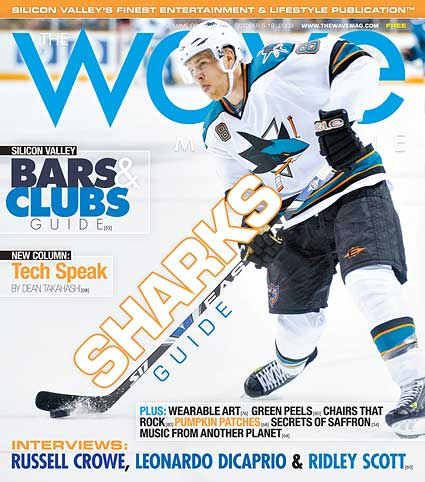 The Wave Magazine 2008-09 NHL season preview Joe Pavelski