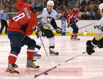 Washington Capitals left wing Alexander Ovechkin