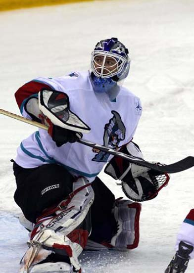China Sharks goaltender Wade Flaherty named top ALIH goalie 2008-09
